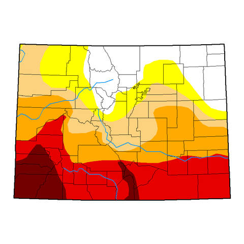 2018 High Plains Drought Conditions Intensifying on ArborScape Denver Tree Service tree care blog
